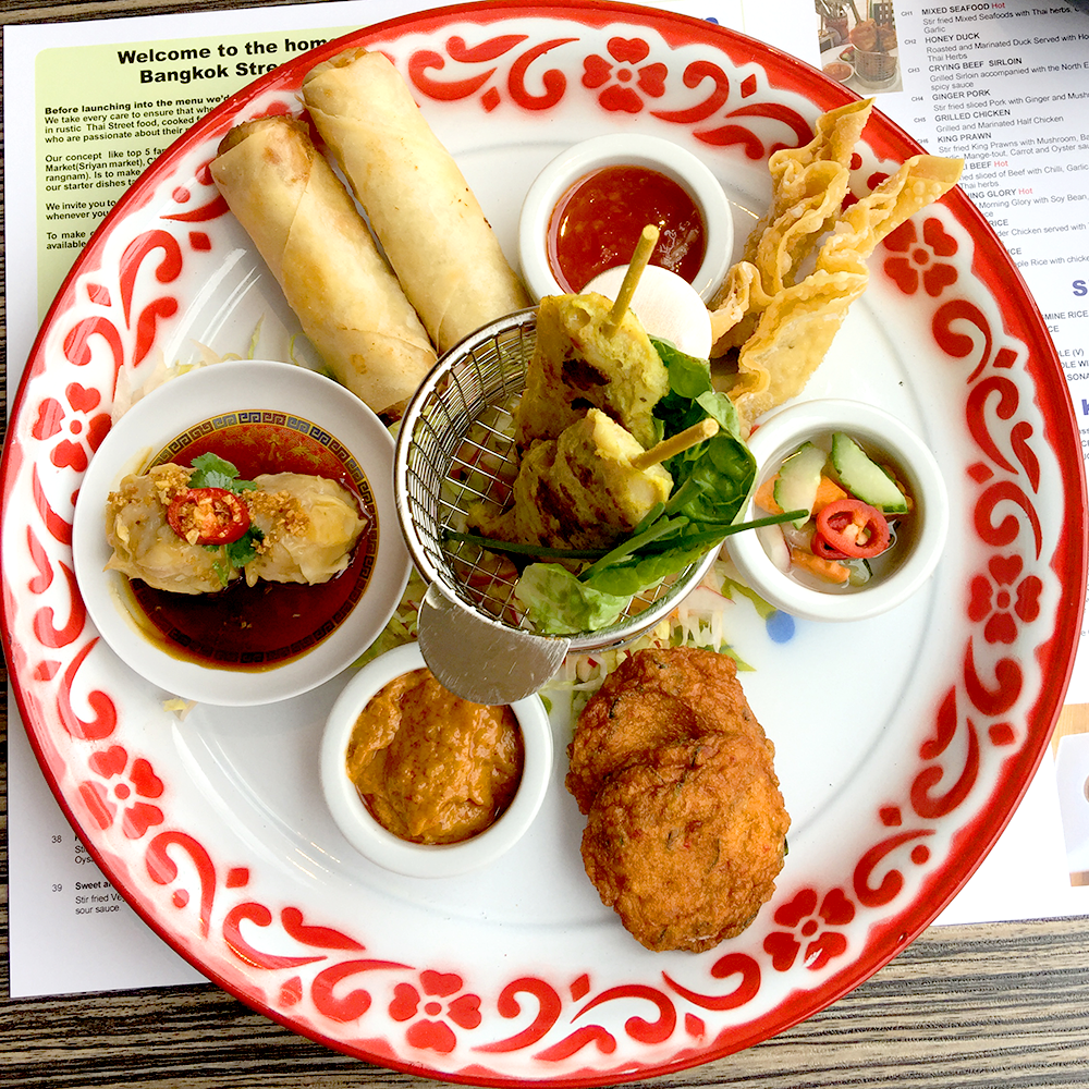 Thai appetisers
